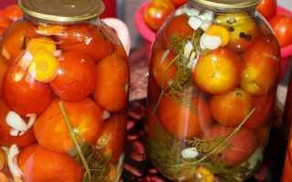 Засолка помидор с ботвой моркови