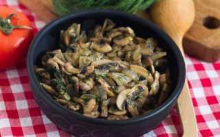 Как правильно жарить грибы с луком