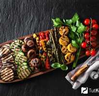 Как приготовить овощи на гриле на природе