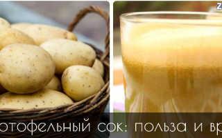 Как выжать сок из картофеля