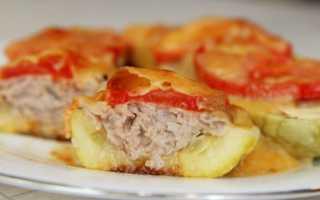 Кабачки фаршированные рецепты быстро и вкусно