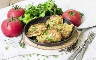 Рецепт постных кабачковых оладий