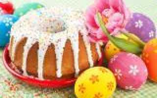 Традиционные рецепты кулича пасхи и других праздничных блюд