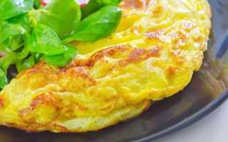 Как делать омлет на сковороде рецепт