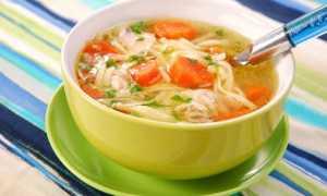 Суп с макаронами, картошкой и мясом