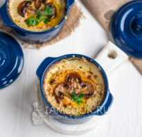 Жульен из грибов классический рецепт со сливками