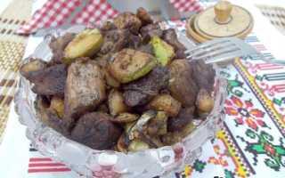 Кабачки с мясом на сковороде рецепты быстро