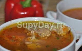 Как варить суп из свинины с картошкой