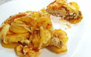 курица по французски с картофелем в духовке