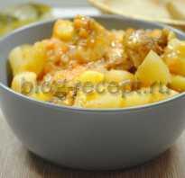 Как потушить картошку с курицей в утятнице