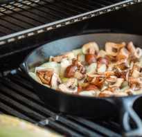 Как правильно обжарить грибы с луком