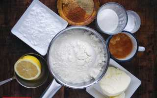 Имбирное печенье рецепт без яиц