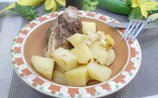 Как потушить телятину с картошкой
