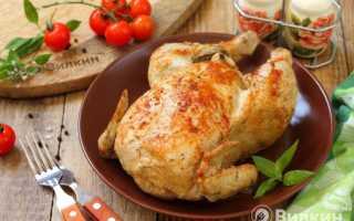 Как запечь целую курицу в мультиварке