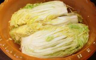 Засолка корейской капусты кимчи