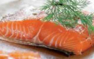 Засолка лосося в рассоле в домашних условиях