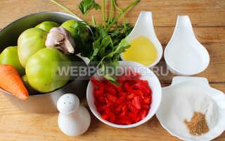 Зелёные помидоры по корейски рецепт быстрый рецепт